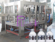 5L Pure Water Bottle Filling Machine 3 In 1 Liquid Filler Equipment