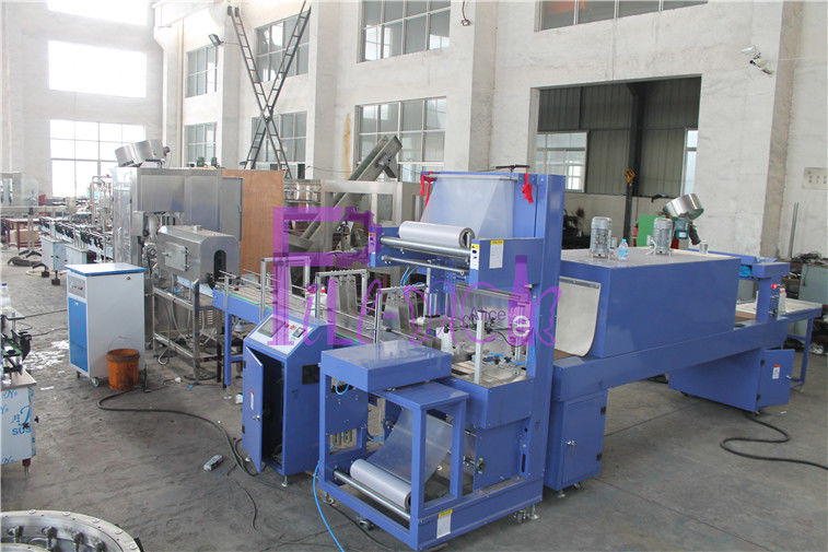 5000 BPH Linear Water Filling Equipment , Plastic Bottles Liquid Filler Machine